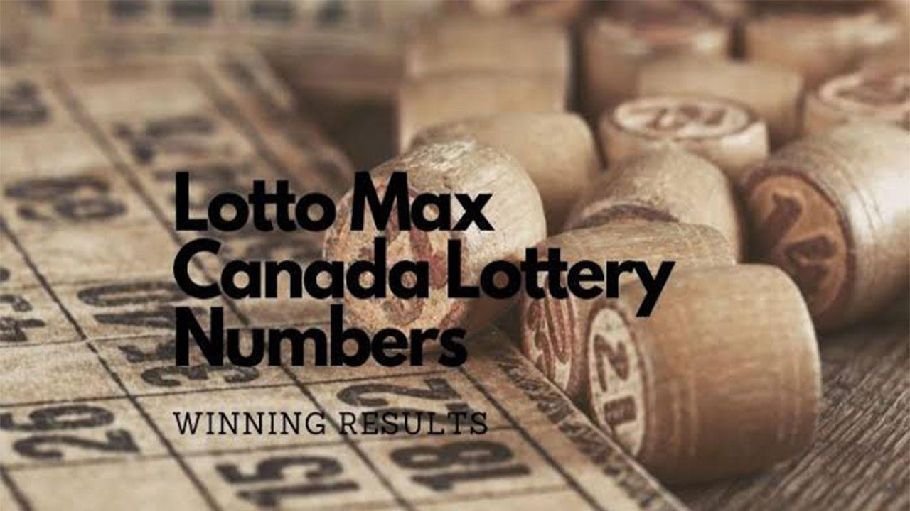 Lotto Max Lottery Winning numbers for September 07, 2021